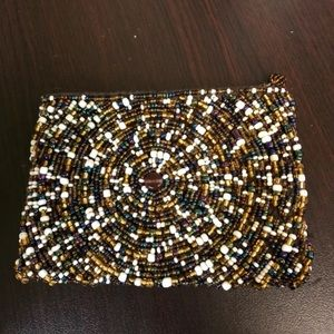 Beaded Credit Card/Coin Bag From Anthropologie